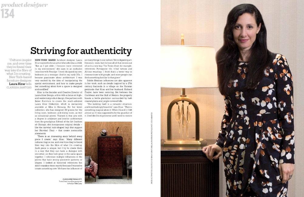 Laura Kirar - Prestige Lifestyle